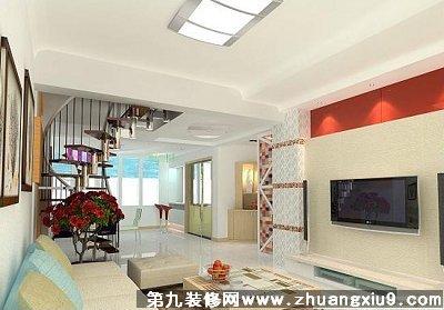 家装效果图-复式楼装修设计1213