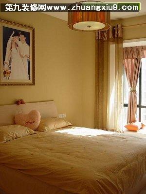 新婚房流行中式卧室实景图流行床