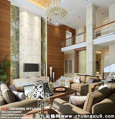 家装设计图片-复式楼装修图片066