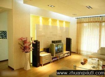 打造简约电视背景墙 装修时尚客厅