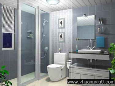 卫生间装修效果图大全2011图片 设计本装修效果图