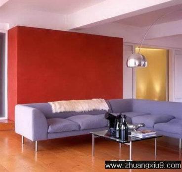 家庭室内装修设计图片之客厅装修图片:简约欧式客厅实景图