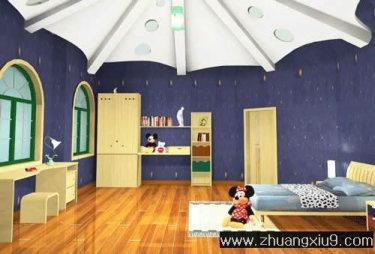 臥室 裝修圖 家庭室內裝修設計圖片之臥室裝修圖片:可愛臥室效果圖