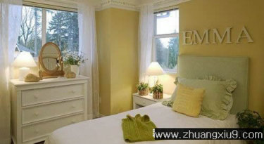 家庭室内装修设计图片之卧室装修图片:手机壁纸温馨欧式卧