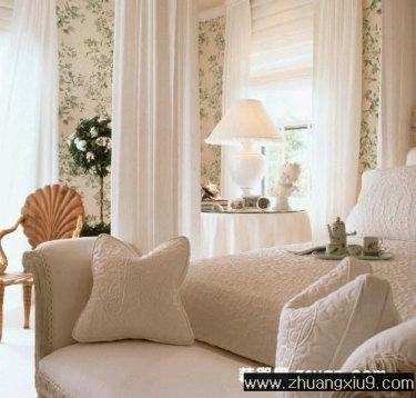 现代欧式大户型卧室实景图暖色床 卧室 装修图 家庭室内装修设计图片