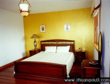 英式卧室装修图片实木家具,卧室装修实景图片        希望 英式卧室