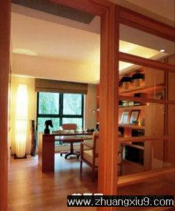 家庭室内装修设计图片之书房装修图片:现代大户型书房实景图