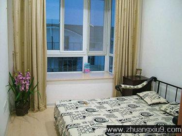 家庭室内装修设计图片之卧室装修图片:现代卧室装修实景图,