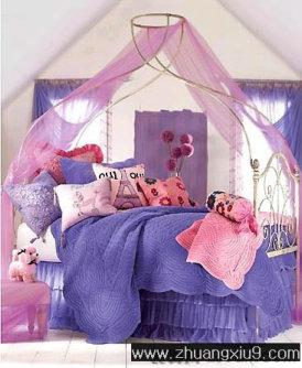 家庭室内装修设计图片之儿童房装修图片:韩式儿童房,爱从轻