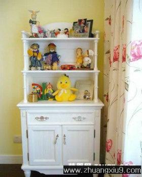 家庭室内装修设计图片之儿童房装修图片:儿童房实景图储物