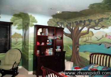 家庭室内装修设计图片之儿童房装修图片:可爱儿童房实景图