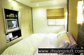 家庭室内装修设计图片之卧室装修图片:小户型卧室装修图片,