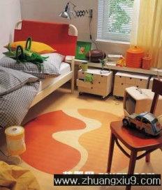 家庭室内装修设计图片之儿童房装修图片:可爱美式儿童房实