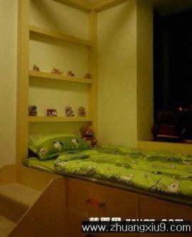 家庭室内装修设计图片之儿童房装修图片:中式
