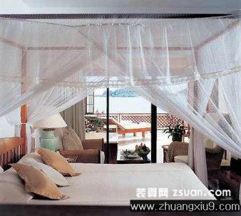 浪漫卧室装修图片海边别墅实景图