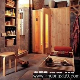 家庭室内装修设计图片之卫浴装修图片:卫生间实景图淋浴房,