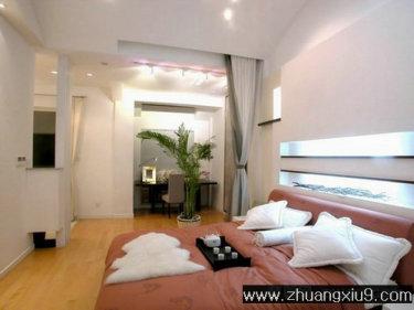 家庭室内装修设计图片之卧室装修图片:高雅卧室装修图片皮