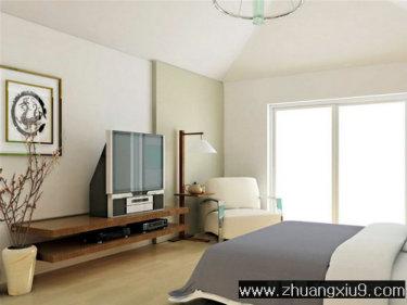 家庭室内装修设计图片之卧室装修图片:卧室装修图片经典灰