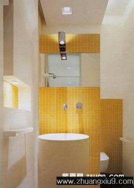 家庭室内装修设计图片之卫浴装修图片:卫生间实景图,洗手间高清图片
