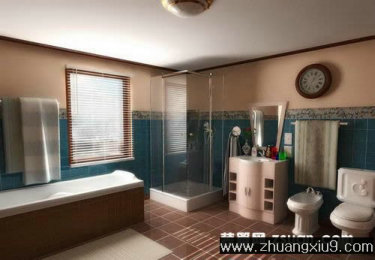 计图片之卫浴装修图片:卫生间实景图淋浴房,洗手间装修图图片