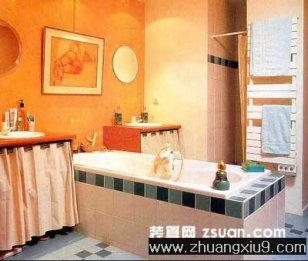 家庭室内装修设计图片之卫浴装修图片:欧洲古典风格卫生间