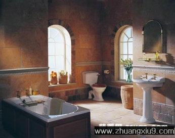 家庭室内装修设计图片之卫浴装修图片 埃及风格卫生间装修