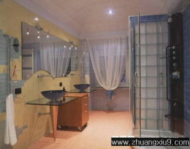 家庭室内装修设计图片之卫浴装修图片:现代卫浴装修图片,洗