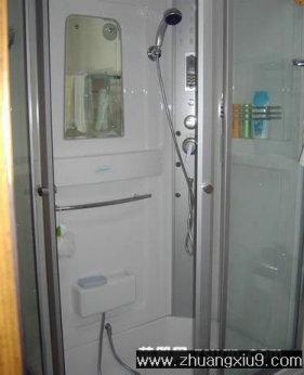 家庭室内装修设计图片之卫浴装修图片:卫生间实景图淋浴房,高清图片