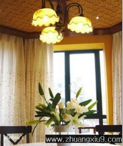 家庭室内装修设计图片之餐厅装修图片:手机壁纸传统餐厅实