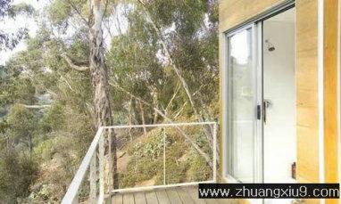 家庭室内装修设计图片之阳台装修图片:现代美式阳台实景图
