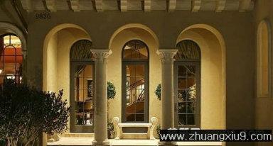 家庭室内装修设计图片之阳台装修图片:现代欧式阳台实景图,