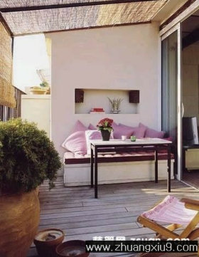 装修效果图 - 阳台装修效果图,客厅阳台装修效果图,卧室阳台装修效果