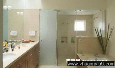 装修设计图片之卫浴装修图片:现代墨西哥卫生间实景图洗手池,