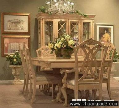 家庭室内装修设计图片之厨房装修图片:古典厨房实景图餐台,