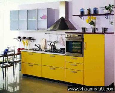 家庭室内装修设计图片之厨房装修图片:现代风格橱柜,打造后