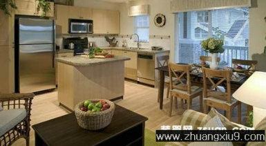 家庭室内装修设计图片之厨房装修图片:手机壁纸温馨欧式厨