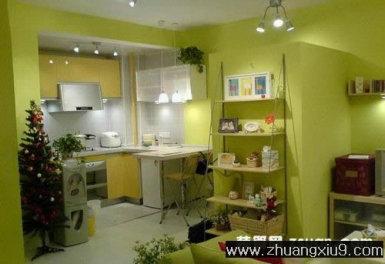 家庭室内装修设计图片之厨房装修图片:小户型厨房装修图片