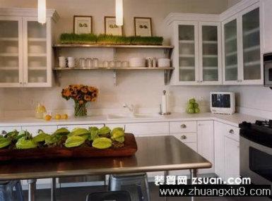 现代欧式厨房实景图橱柜