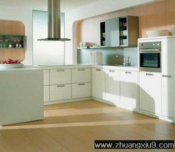 厨房 装修实景图 家庭室内装修设计图片之厨房装修图片:厨