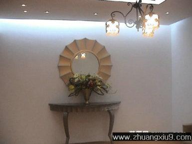 家庭室内装修设计图片之玄关装修图片:简洁优雅玄关装修图