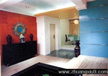 家庭室内装修设计图片之玄关装修图片:古典玄关实景图储物