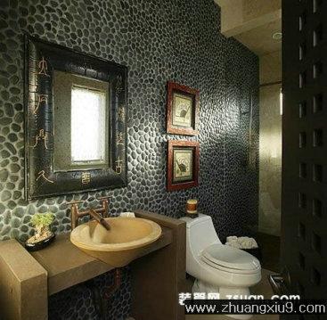 家庭室内装修设计图片之卫浴装修图片:现代欧式卫生