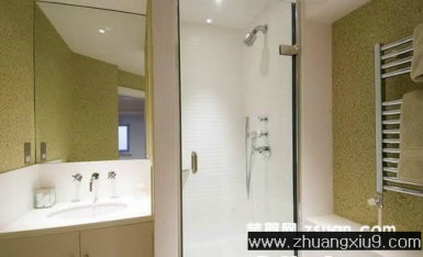 家庭室内装修设计图片之卫浴装修图片:现代欧式中户型卫生