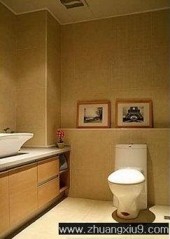 家庭室内装修设计图片之卫浴装修图片:现代卫生间实景图马
