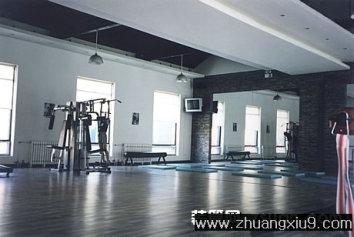 家庭室内装修设计图片之健身房装修图片:健身房实景装修图