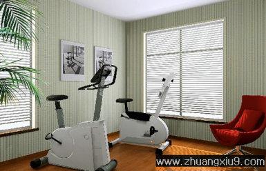 家庭室内装修设计图片之健身房装修图片:健身房装修实景图,