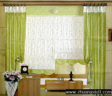 窗帘布艺矢量图展示