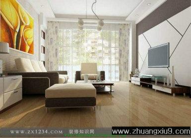石膏板电视墙造型效果图