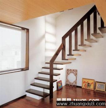 楼梯 装修图 家庭室内装修设计图片之楼梯装修图片