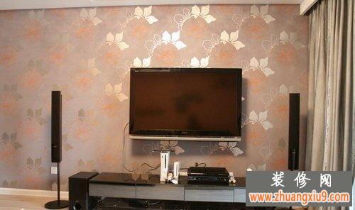 2013年电视 墙壁纸 效果图欣赏 客厅装修效果图